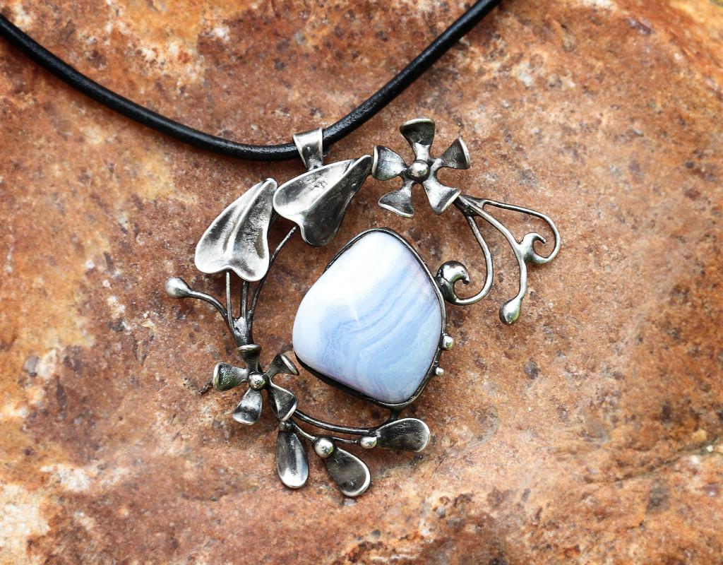 Šperky - Přívěšek - Chalcedon