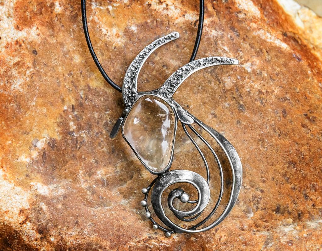 Šperky - Přívěšek Kozoroh - Křišťál