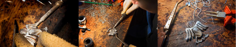 Šperkařská dílna - výroba přívěšku - anděl